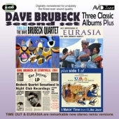 Dave Brubeck/Three Classic Albums Plus (Time Out/Jazz Impressions Of Eurasia/Dave Brubeck At Storyville 1954)[AMSC998]