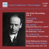 ヴィルヘルム・フルトヴェングラー/Wilhelm Furtwangler - Early Recordings Vol.4: Wagner, Brahms, J.Strauss II, R.Strauss / Berlin Philharmonic Orchestra[8111005]