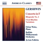ジョアン・ファレッタ/Gershwin: Concerto in F, Rhapsody No.2, I Got Rhythm Variations[8559705]