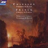 Franck, Chausson: Symphonies / D'Avalos, The Philharmonia