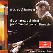 レナード・バーンスタイン/Touches of Bernstein - The Complete Published Piano Music of Leonrd Bernstein - Touches-Chorale, Eight Variations and Coda, etc [CRC2702]