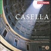 マーティン・ロスコー/Casella: Symphony No.2 Op.12, Scarlattiana Op.45 [CHAN10605]