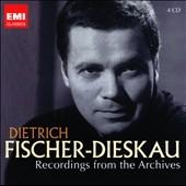 ディートリヒ・フィッシャー=ディースカウ/Dietrich Fischer-Dieskau - Recording from the Archives [CZS4554312]