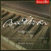 マーティン・ロスコー/Beethoven: Piano Sonatas Vol.1 - Pathetique [DXL1161]