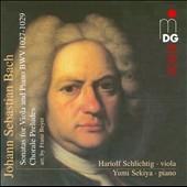 ハリオルフ・シュリヒティッヒ/J.S.Bach: Viola da Gamba Sonatas BWV.1027-BWV.1029, Chorale Preludes [90316606]
