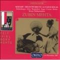 Mozart: Die Entfuehrung aus dem Serail / Mehta, Wunderlich