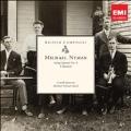 M.Nymann: String Quartet No.4, 3 Quartets