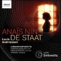 Louis Andriessen: Anais Nin, De Staadt