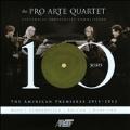 Pro Arte Quartet - The American Premieres 2011-2012