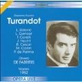 Puccini :Turandot (1/13/1962):Oliviero de Fabritiis(cond)/San Carlo Theater Orchestra & Chorus/Lucilla Udovick(S)/etc