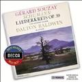 Schumann: Liederkreis Op.39, Romanze Op.138-5, Der Spielmann Op.40-4, etc