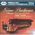 Chopin: Piano Concertos 1 & 2 / Bachauer, Dorati, London SO