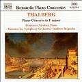 Romantic Piano Concertos - Thalberg / Nicolosi, et al