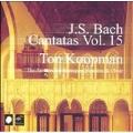 Bach: Cantatas Vol 15 / Ton Koopman, et al