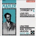 Mahler: Symphony no 4, Songs of a Wayfarer / Jaervi, Finnie
