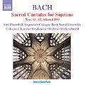 J.S.Bach: Sacred Cantatas for Soprano No.51, No.52, No.84, No.199 / Helmut Muller-Bruhl, Cologne Chamber Orchestra, etc