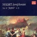 """Mozart: Symphony no 41 """"Jupiter"""" & 29"""
