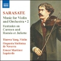 Sarasate: Music for Violin & Orchestra Vol.2