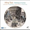 Ming Tsao: Pathology of Syntax