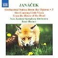 Janacek: Orchestral Suites from the Operas Vol.3 / Peter Breiner, New Zealand SO