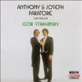 Anthony & Joseph Paratore play Igor Stravinsky