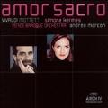 Amor Sacro -Vivaldi: Mottetti; In Furore R.626, Nulla in Mundo Pax Sincera R.630, etc / Simone Kermes(S), Andrea Marcon(cond), Venice Baroque Orchestra