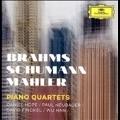 Brahms, Schumann, Mahler - Piano Quartets