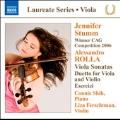 Rolla: Viola Sonatas, Duetto for Viola and Violin, Esercizi