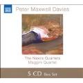 P.Maxwell Davies: Naxos Quartets No.1-No.10 / Maggini Quartet