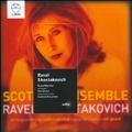 Ravel: String Symphony; Shostakovich: Chamber Symphony