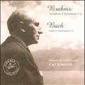 Brahms: Symphony No.4 Op.98; J.S.Bach: Suite-Ouverture No.2 BWV.1067 / Carl Schuricht, SRO, Andre Pepin