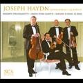 Haydn: Famous String Quartets: Op.76-2 ''Quinten'', No.3 ''Kaiser'', No.4 ''Sonnenaufgang''