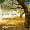 James Cohn: Symphony No.3, No.4, No.8, Miniatures