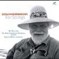 Lou Harrison For Strings / Miller, Man, et al