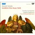 Schutz: Geistliche Chor-Music 1648 SWV.369-397