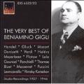 The Very Best of Beniamino Gigli -Handel/Mozart/Donizetti/etc (1927-46)