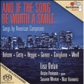 And If the Song Be Worth a Smile - Songs by American Composers: W.Bolcom, G.Getty, J.Heggie, etc  / Lisa Delan, Susanne Mentzer, etc