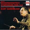 Schostakowitsch: Symphonies Nos. 1 & 6 / Sanderling, Berlin