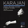 Karajan - Brahms, Bruckner, Wagner, R.Strauss, Schumidt<完全限定盤>