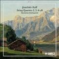 Joachim Raff: String Quartets No.2-No.4, No.8
