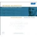 Bruckner:Symphony No.7 :Herbert Blomstedt(cond)/Gewandhausorchester Leipzig