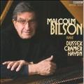 """Malcolm Bilson Plays Haydn, Dussek & Cramer -Haydn: Piano Sonata Hob.52; Dussek: Piano Sonata Op.44 """"The Farewell""""; Cramer: Variations on """"Ein Madchen oder Weibchen wunscht Papageno sich"""" from Mozart's Die Zauberflote (9/2007)"""