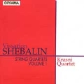 Shebalin: String Quartets Vol 1 / Krasni Quartet