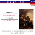 Haydn: Mass 10; Mozart: Vespers, K339