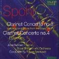 Spohr: Clarinet Concertos no 3 & 4, etc / Denman, Bernhardt