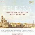 J.D.Zelenka: Orchestral Suites, Trio Sonatas - 5 Capriccios, Concerto a 8 Concertanti, etc / Alexander van Wijnkoo(cond), Camerata Bern, etc
