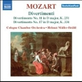 Mozart: Divertimenti No.11 & No.17