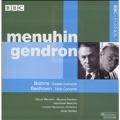Brahms: Double Concerto Op.102; Beethoven: Triple Concerto Op.56 (6/10/1964) / Istvan Kertesz(cond), LSO, Yehudi Menuhin(vn), etc
