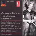 GIOCONDA DE VITO -THE CHAMBER REPERTOIRE:PURCELL/HANDEL/VIOTTI/ETC:YEHUDI MENUHIN(vn)/ETC(1955)