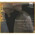 Faure: Requiem (1893 Chamber Version), Faure(Messager): Messe des Pecheurs de Villerville (9/1988) / Philippe Herreweghe(cond), La Chapelle Royale Paris, Chapelle Royale, Musique Oblique, Agnes Mellon(S), Peter Kooy(Br), etc